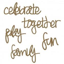 Celebrate Word Set