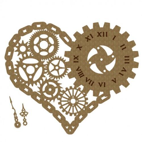 Chain Heart - Steampunk