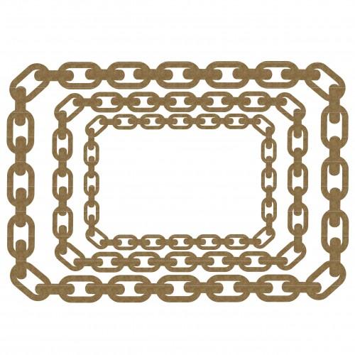 Rectangle Chain Frame - Frames