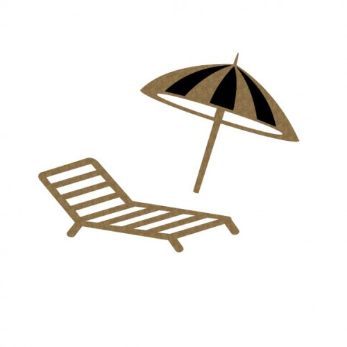 Chair and Umbrella 1 - Summer