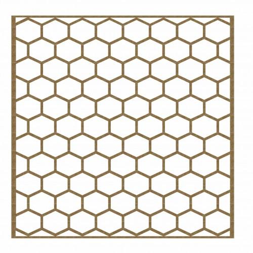 "Chicken Wire Panel - 6"" x 6"" Lattice Panels"