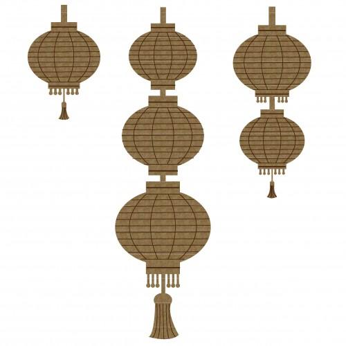 Chinese Lantern Set 2 - Lighting