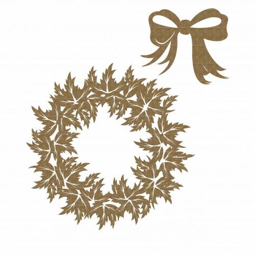 Christmas Holly Wreath - Christmas