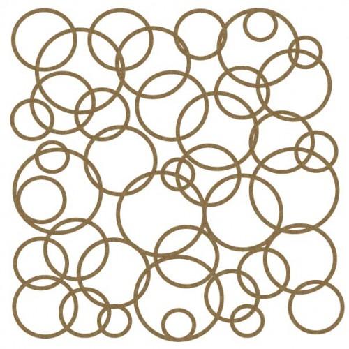 "Circles - 6"" x 6"" Lattice Panels"
