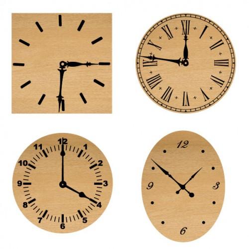 Simple Clocks - Wood Veneers