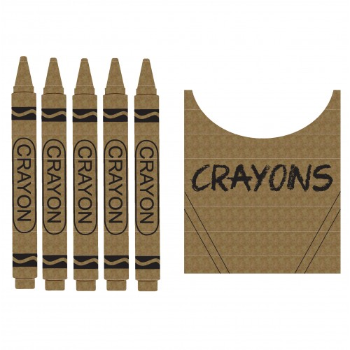 Crayon Set - School