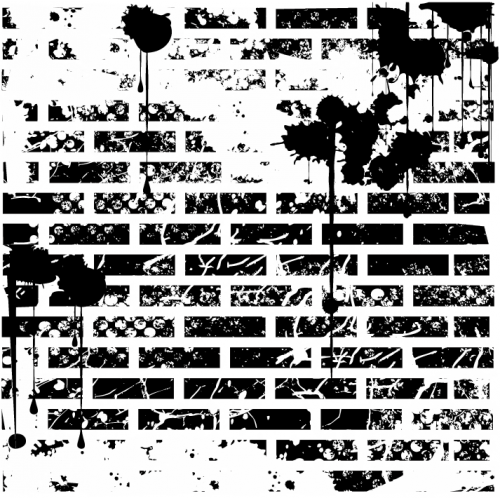 Distressed Brick Stamp - Backgrounds
