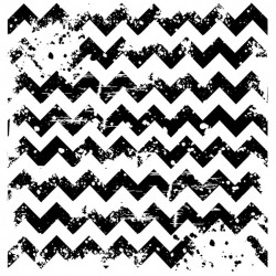 Distressed Chevron Stamp