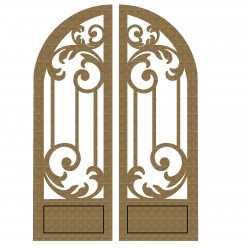Arched Doors Set 2