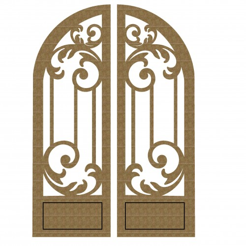 Arched Doors Set 2 - Windows and Doors
