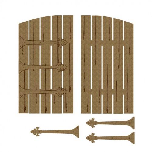 Double Barn Door - Windows and Doors