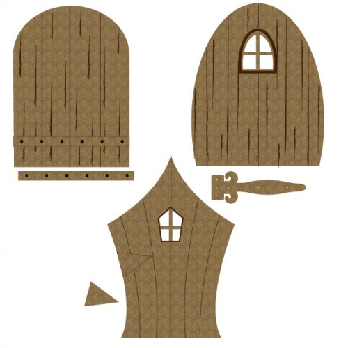 Fairy Door Set 1 - Windows and Doors