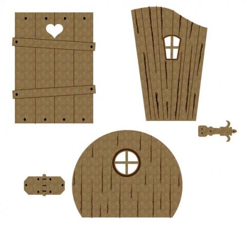 Fairy Door Set 2 - Windows and Doors
