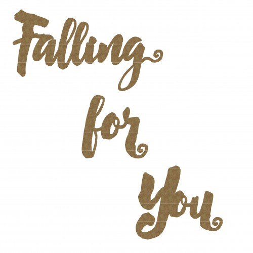 Falling For You - Words