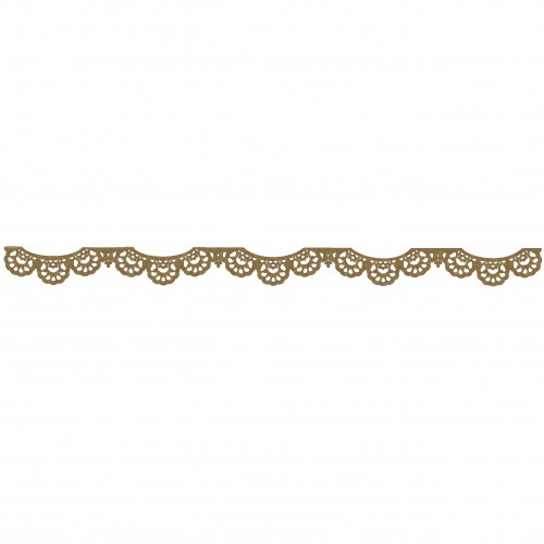 Lace Border 2 - Chipboard