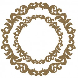 Fancy Circle Frame