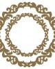 Fancy Circle Frame - Frames