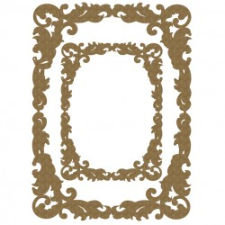 Fancy Rectangle Frame Set
