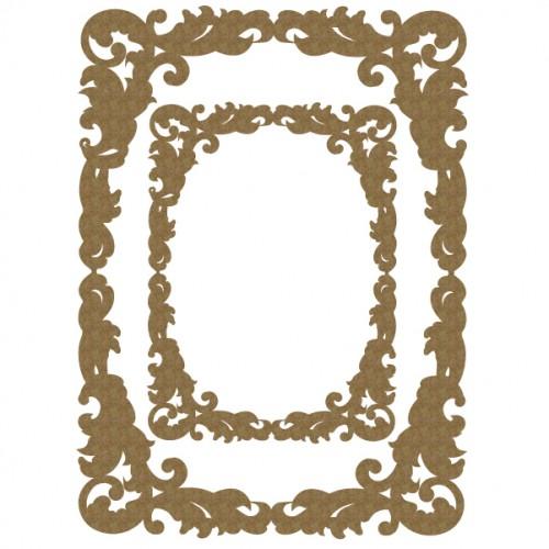 Fancy Rectangle Frame Set - Frames