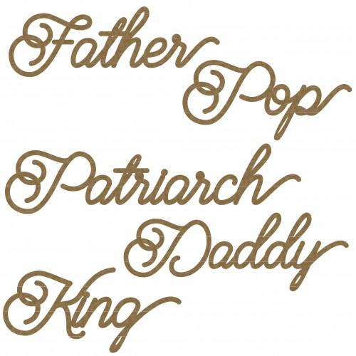 Father Word Set - Words
