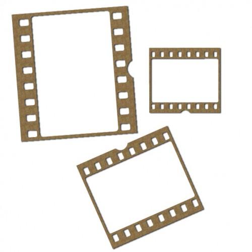 Film Strip Picture Frame Set - Frames