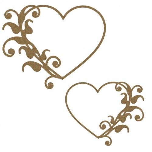 Flourish Heart Frame 1 - Frames