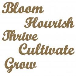 Flourish Word Set