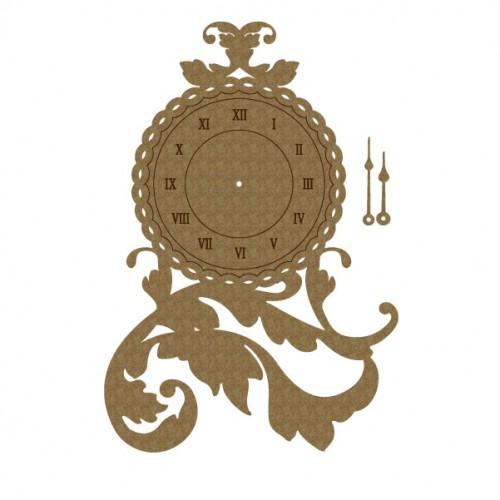 Flourish Clock - Flourishes