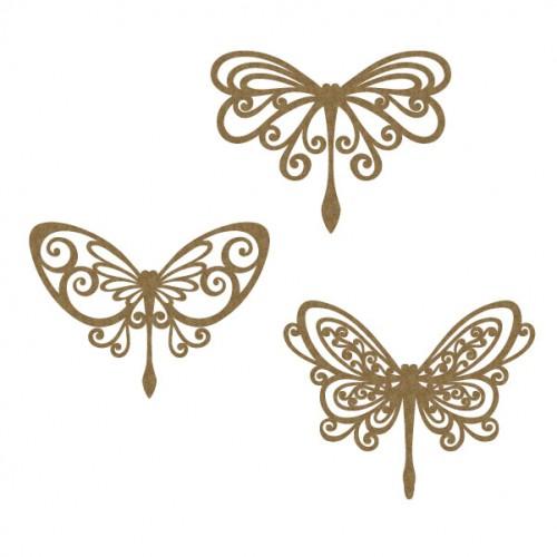 Flourish Dragonflies - Wings