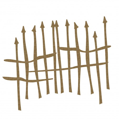 Spiky Gate - Fences and Gates
