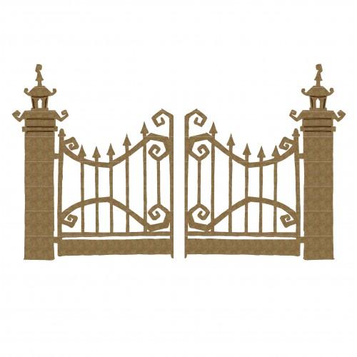 Halloween Gates - Fences and Gates