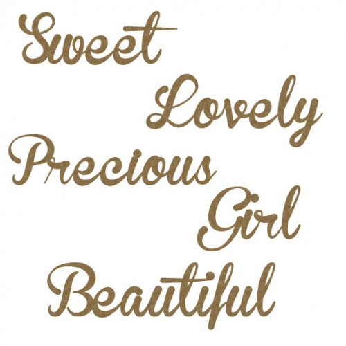 Girl Word Set - Words
