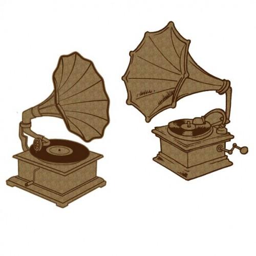 Gramophones - Chipboard