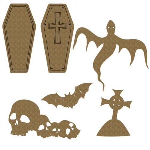 Graveyard Set - Halloween