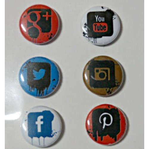 Grunge Social Media - Flair