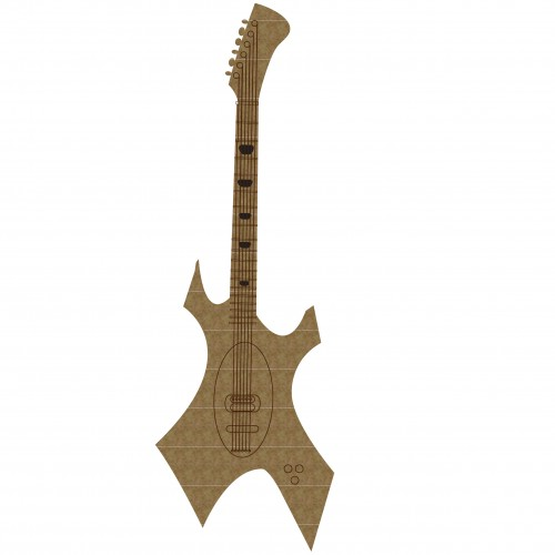 Guitar Style 2 - Chipboard