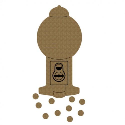 Gumball Machine - Chipboard
