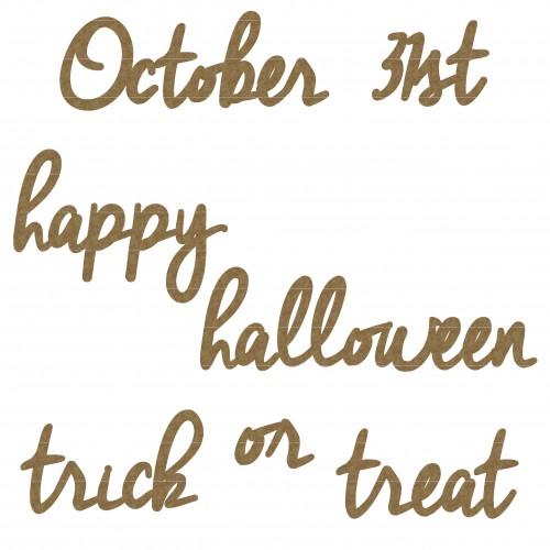 Happy Halloween Word Set - Words
