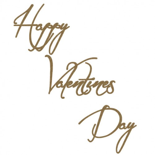 Happy Valentines Day Style 2 - Words