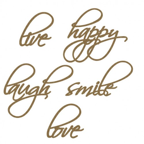 Happy Word Set - Words