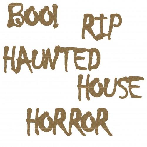Haunted Word Set - Words
