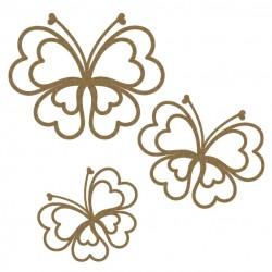 Heart Butterflies Set 1