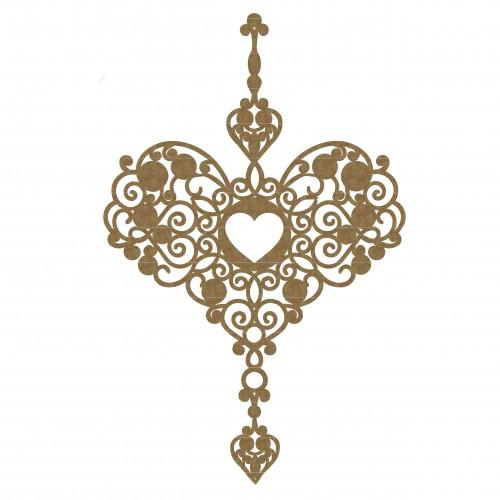 Heart Dangle - Valentine s Day
