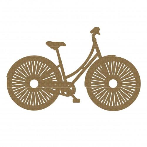 Her Bike - Chipboard