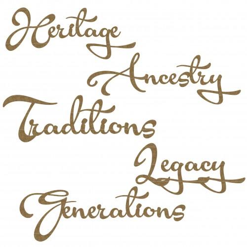 Heritage Word Set - Words