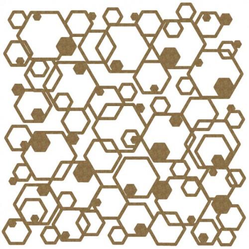 "Hexagon Panel - 6"" x 6"" Lattice Panels"
