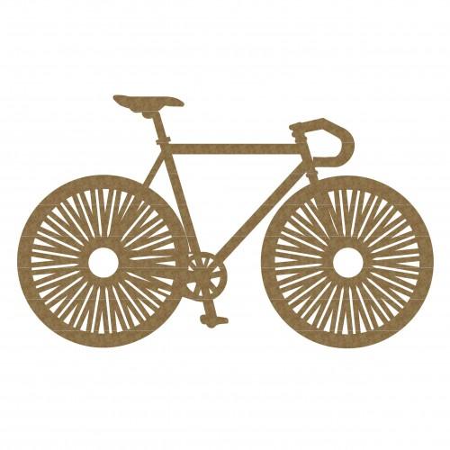 His Bike - Chipboard