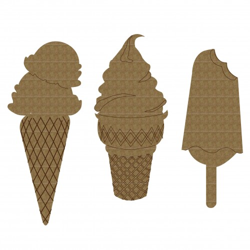 Ice Cream Set - Summer