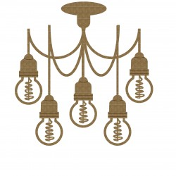 Industrial Light Hanging Chandelier