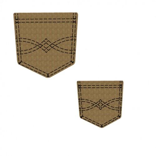 Jean Pockets - Chipboard